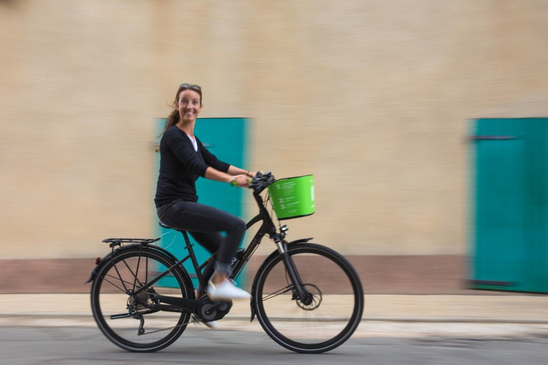 Vélo electrique recyclé