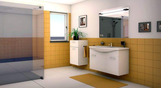 Miroir lumineux une idée originale pour décorer sa salle de bains 3